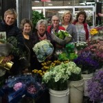 Our Flower Guild at the Flower Mart