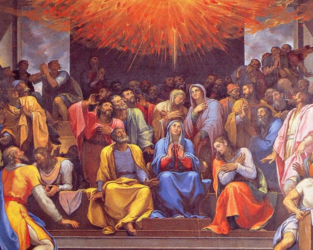 Pentecost- Gift of the Holy Spirit