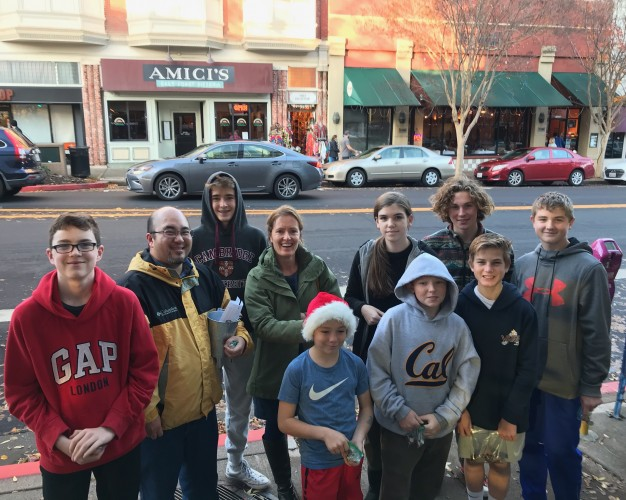 Teen Service Project and Social